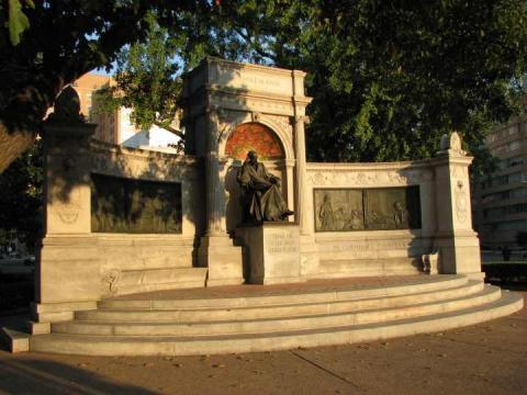 Wasington Hahnemann emlékmű